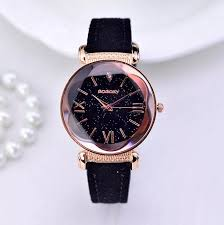 <b>2021 Hot Sales</b> Fashion Gogoey Brand Starry Sky Leather Watches ...