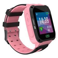 Детские <b>умные часы Jet Kid</b> Connect розовый — купить в ...
