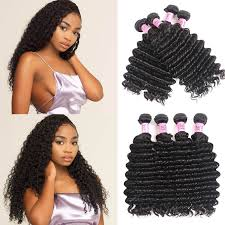 UNice Virgin <b>Brazilian Deep Wave Hair</b> Weave 4 Bundles | UNice.com