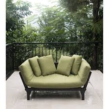 brown wicker outdoor furniture dresses: better homes and gardens delahey studio day sofa with cushions walmartcom