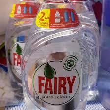 <b>Средство д</b>/мытья <b>посуды Fairy Pure</b> & Clean 450мл – купить в ...