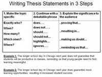thesis statement for argumentative essay  scribd