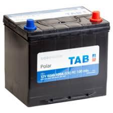 """АКБ """"<b>TAB</b>"""" <b>TAB</b> Batteries Polar JIS MF (60Ач о/п) 55D23L (нижний ..."""