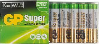 Купить AAA <b>Батарейка GP Super Alkaline</b> 24A LR03 в интернет ...