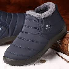Best Offers for <b>men</b> waterproof fur <b>winter boots</b> brands and get free ...