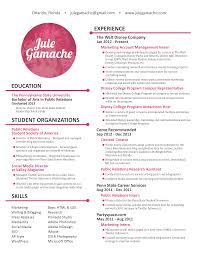 disney college program resume sample resume  disney college program resume