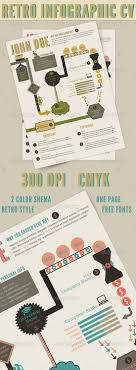 best infographic resume templates for you retro infographics resume by barpaff infographic resume templates