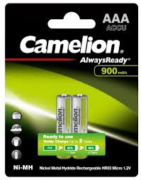 <b>Аккумулятор</b> Ni-Mh 900 мА·ч <b>Camelion</b> Always Ready <b>AAA</b> ...