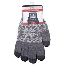 <b>Теплые перчатки для</b> сенсорных дисплеев Size M Grey - ElfaBrest