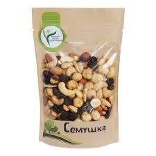 <b>Смесь</b> жареных <b>орехов и</b> изюма Семушка 150 гр. — купить в ...