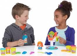 Игровой <b>набор</b> Play-Doh Сумасшедшие прически с пластилином ...