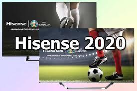 <b>Телевизоры Hisense</b> 2020 года