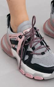 <b>Sneaker</b> Seventy White Pink | <b>Bronx sneakers</b> with thick soles