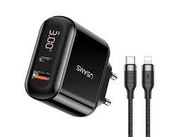 <b>Зарядное устройство Usams UTU</b> Kit Travel Cable - Чижик