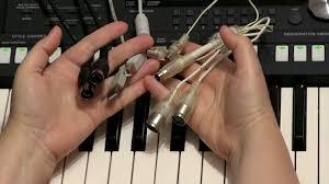 Как подключить синтезатор к компьютеру по миди - YouTube
