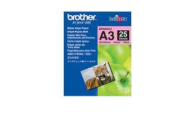 Genuine Brother BP60MA3 Matte <b>A3</b> Inkjet Paper