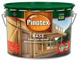 <b>Грунтовка Pinotex Base</b> (9 л) — купить по выгодной цене на ...