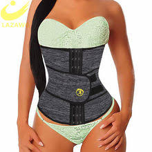 lanfei waist trainer modeling strap slimming belt sweat body shaper woman neoprene support girdle band corset sport top