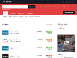 best job board wordpress themes amp plugins  athemes job board from templatic is an allinone apptheme for building a job directory website wordpress after the 1click installation both jobs and