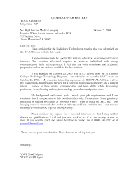 cover letter template information technology