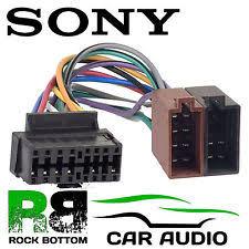 cdx gt210 sony cdx gt210 car radio stereo 16 pin wiring harness loom iso lead adaptor