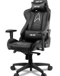 Купить <b>Кресло</b> офисное <b>Arozzi Gaming</b> Star Trek Edition черный ...