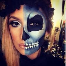 sfx makeup ideas to try on makeup special effects makeup and pop art zombie