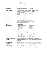 architecture resume examples  socialsci cosample resume architecture resume exles sle   architecture resume examples