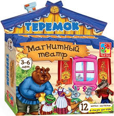Магнитный театр Vladi toys Теремок 13 предметов VT3206-08 ...