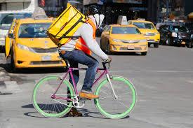 Slikovni rezultat za Bike delivery jobs NYC PICTURE