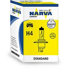 Купить <b>Автомобильную лампу H4</b> 12V, <b>60</b>/55W Narva, 1шт. в ...