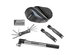 <b>Combination</b> pack of <b>cycling</b> pump, saddle pack and multi tool ...