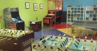get your game on in this awesome office breakroom awesome office