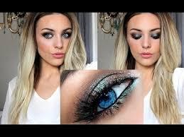 Makeup Tutorial Using <b>Mac's Blue Brown</b> Pigment - YouTube