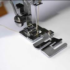 <b>Metal Sewing Machine</b> Presser <b>Foot</b> with 3 Sizes Double Twin ...