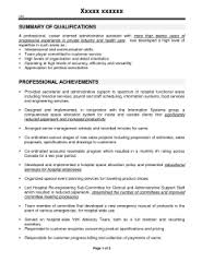 administrative assistant resume professional summary        administrative assistant resume professional summary hospital administrative assistant resume   doc by krz