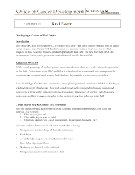 cover letter sample resume for real estate agent sample resume for cover letter sample resume for real estate agent broker cover lettersample resume for real estate agent