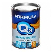 <b>Эмаль ПФ-115 Formula Q8</b> голубая 0.9 кг — купить по выгодной ...