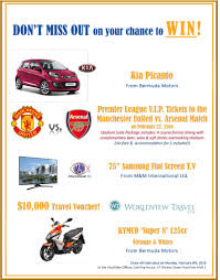 50 000 in prizes offered in youthnet raffle bernews com raffle flyer 2