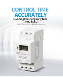 Astronomical Programmable time switch <b>BS26W</b> AC220V ...