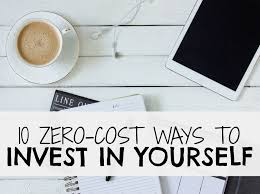 zero cost ways to invest in yourself this year