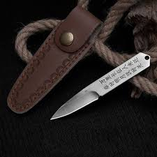 Big Discount #63ff - Fixed Blade Knife <b>D2 Steel Small</b> Straight Knife ...