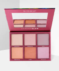 <b>Sigma Beauty Chroma Glow</b> Shimmer And Highlighter Palette at ...