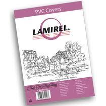 <b>Обложка</b> для переплета <b>Lamirel Transparent</b> дымчатая PVC A4 ...