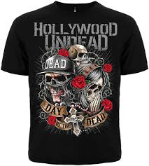 <b>Men'S</b> T <b>Shirt</b> With Short Sleeves Music Band Hollywood Undead ...