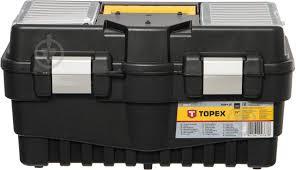 """ᐉ <b>Ящик</b> для ручного <b>инструмента Topex</b> 19"""" 79R132 • Купить в ..."""