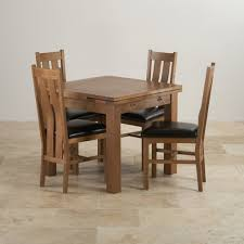 chunky dining table and chairs  dining table rustic solid oak dining set ft extending table with  arched back and