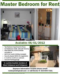 rentals diversity news magazine published by diversity news master bedroom for rent in a two bedroom apartment to share in west hollywood