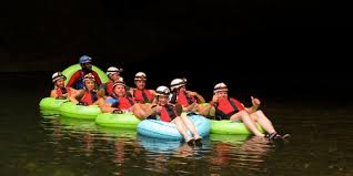 Image result for belize cave tubing