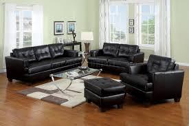 black white or red bonded leather living room sofa woptions black leather living room